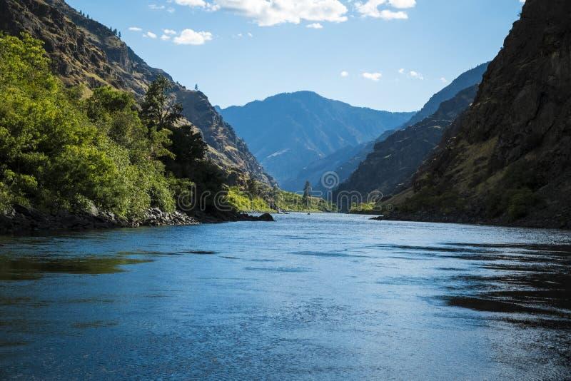 Barranco de los infiernos, Idaho fotografía de archivo