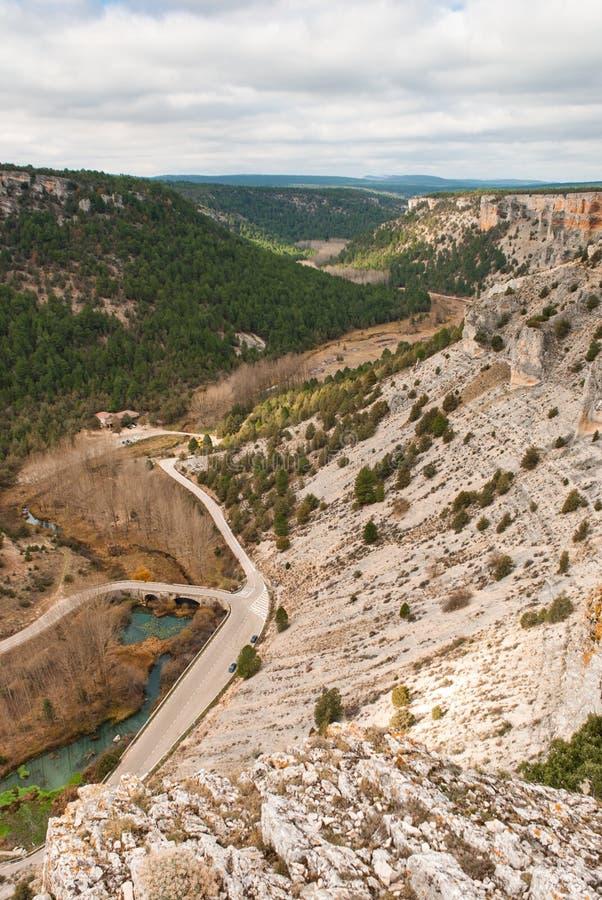 Barranco del río de Lobos imagen de archivo libre de regalías