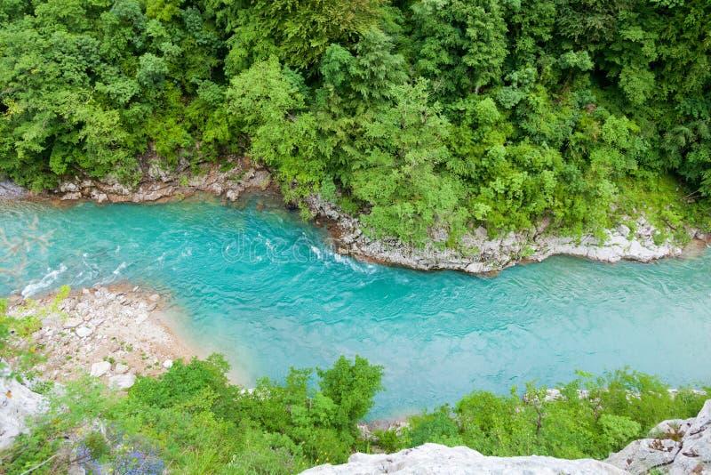 Barranco del río de Tara, Montenegro fotos de archivo