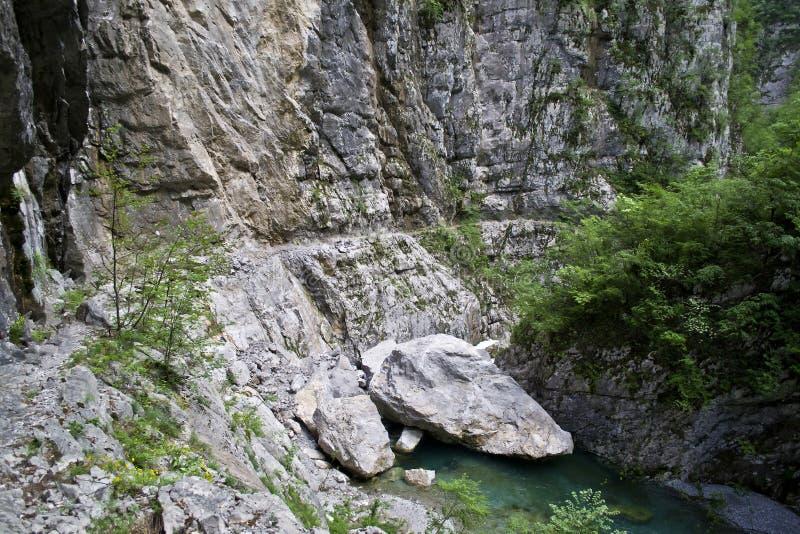 Barranco Mrtvica fotos de archivo libres de regalías