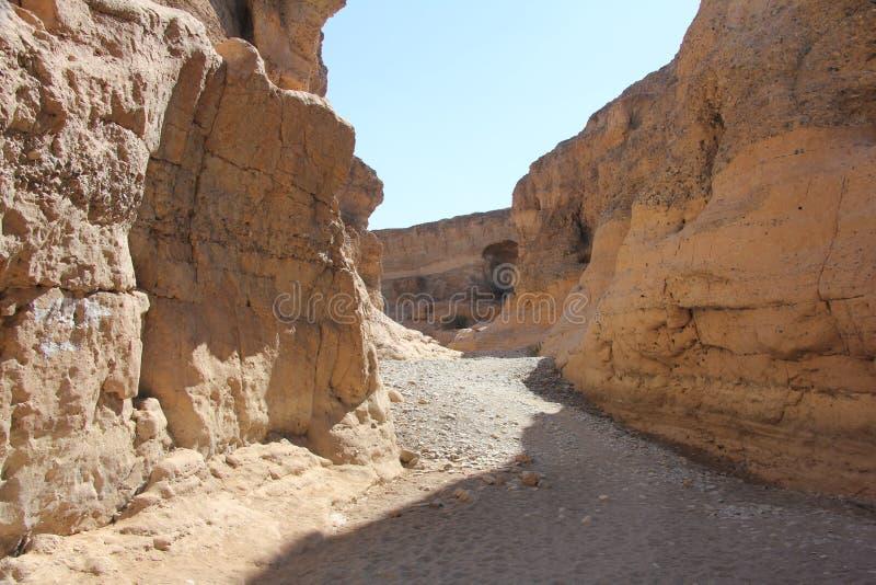 Barranco Namibia de Sesreim imagen de archivo libre de regalías