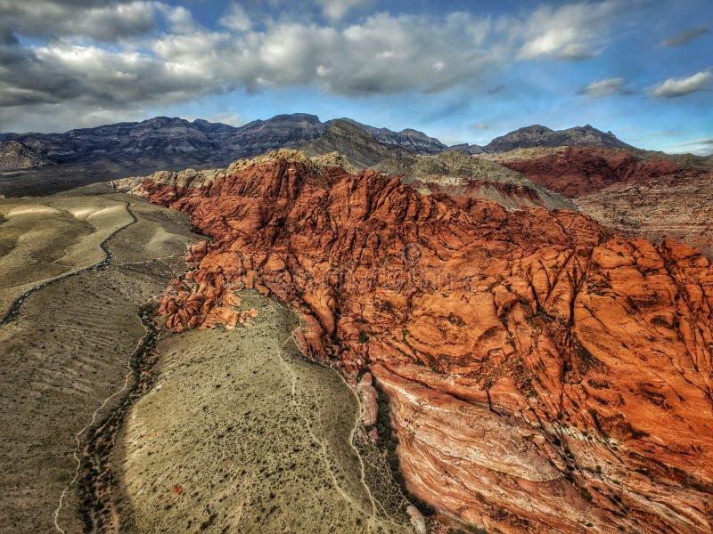 Barrancos de la roca de la roca - Nevada foto de archivo libre de regalías