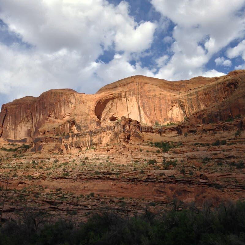 Barrancos de Moab, Utah foto de archivo libre de regalías