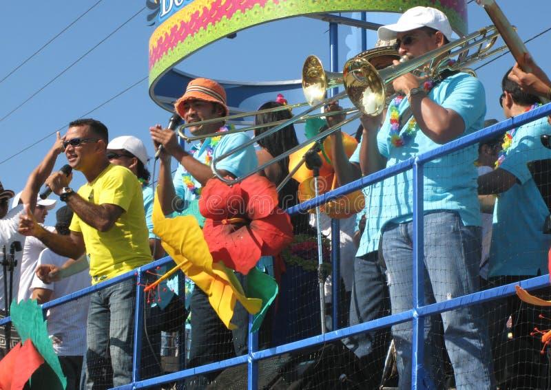 barranquilla carnaval s arkivfoton