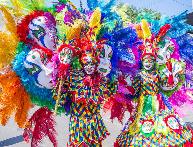 Barranquilla Carnival royalty free stock images