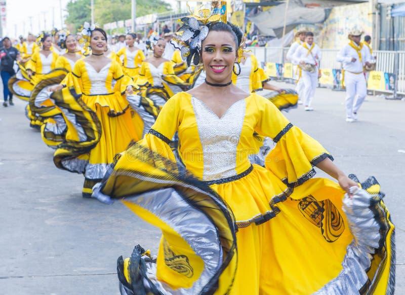 Barranquilla karneval royaltyfria foton