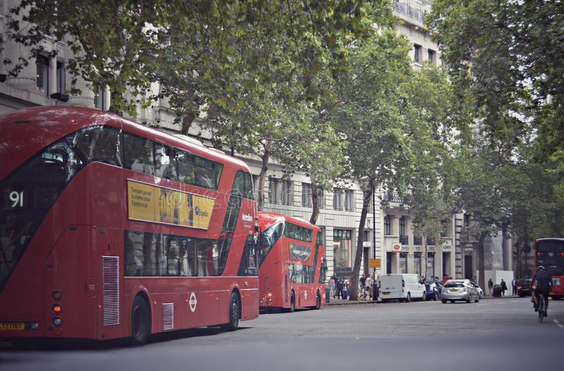 barras-ônibus imagem de stock