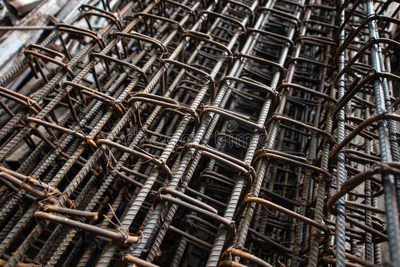 Barras de aço fotografia de stock royalty free