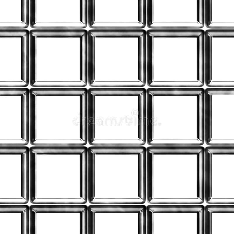 Barras de aço sem emenda ilustração stock
