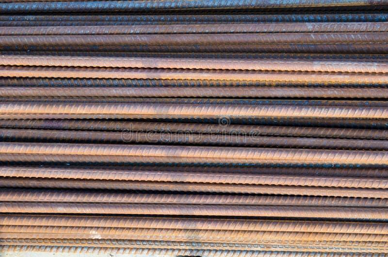 Barras de acero fotos de archivo