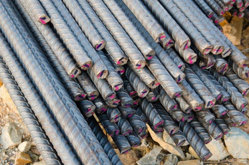 Barras de acero fotografía de archivo libre de regalías