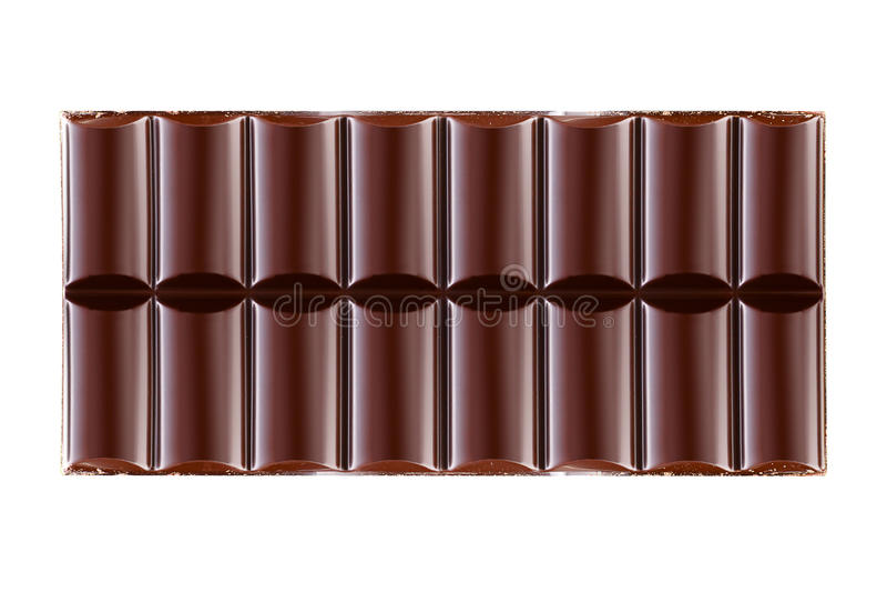 Barras de chocolate foto de stock