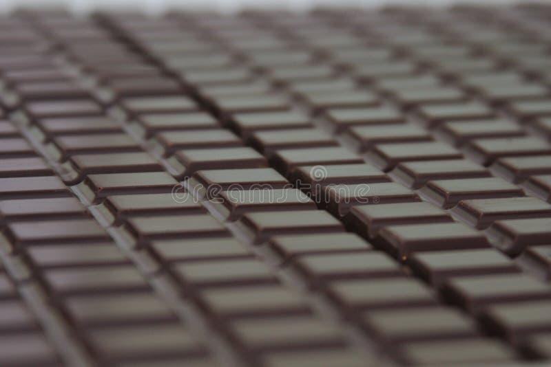 Barras de chocolate foto de archivo libre de regalías