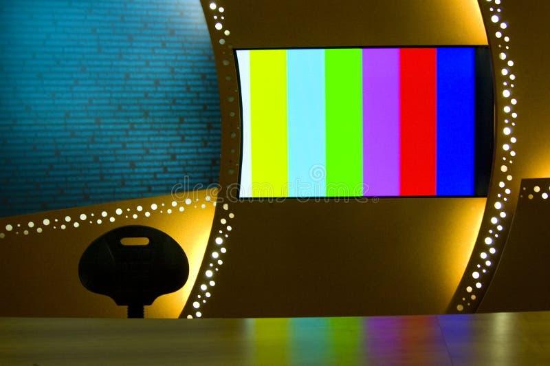Barras de color de la TV