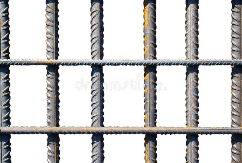Barras de ferro fotos de stock royalty free