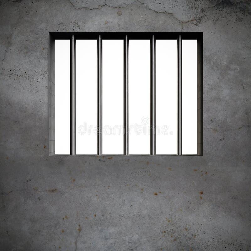 Barras de la cárcel libre illustration