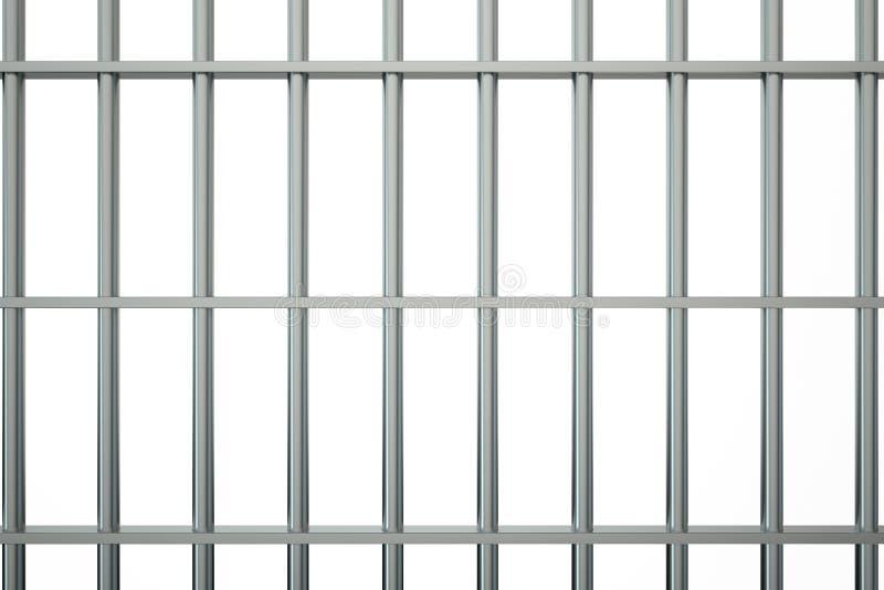 Barras de la prisión del metal libre illustration