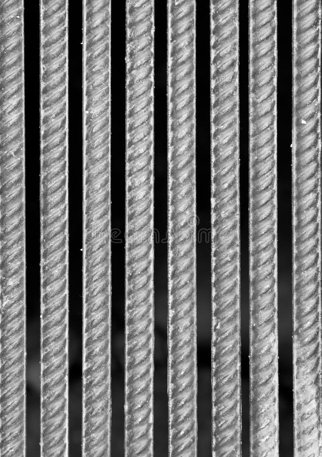 Barras De Metal Imagenes de archivo