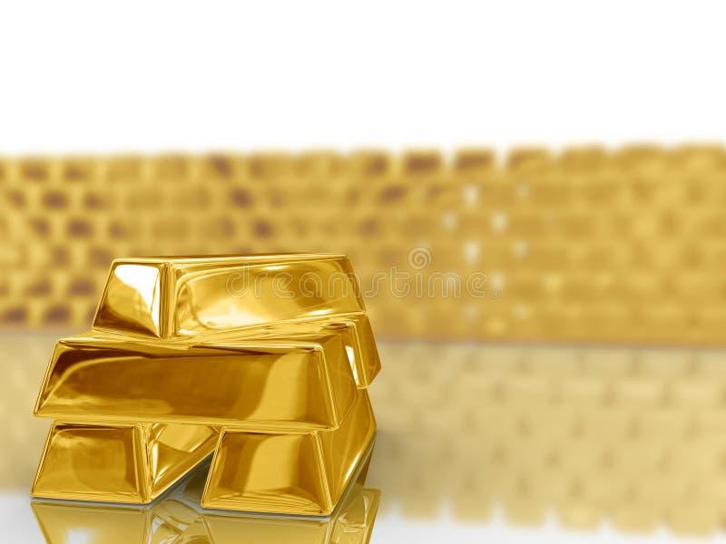 Download Barras de oro. stock de ilustración. Ilustración de barras - 7282256