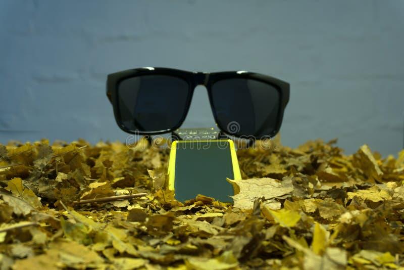 Barras de ouro no close-up do fundo das grões da pepita fotos de stock royalty free