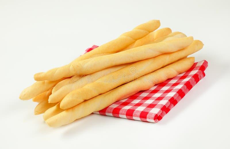 Barras de pan curruscantes foto de archivo