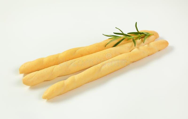 Barras de pan curruscantes fotografía de archivo libre de regalías
