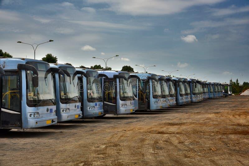 barras-ônibus foto de stock royalty free