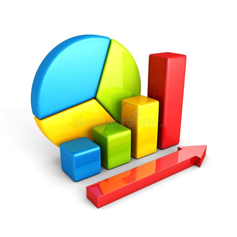 Download Barre Analogique Brillante Colorée D'affaires D'analyse De Statistiques Illustration Stock - Illustration du échange, analyse: 45352353