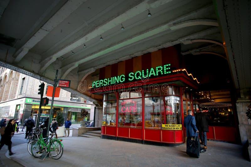 Barre carrée de Pershing photographie stock libre de droits