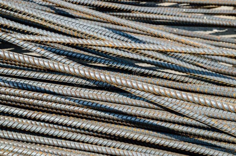 Barre d'acier photo libre de droits
