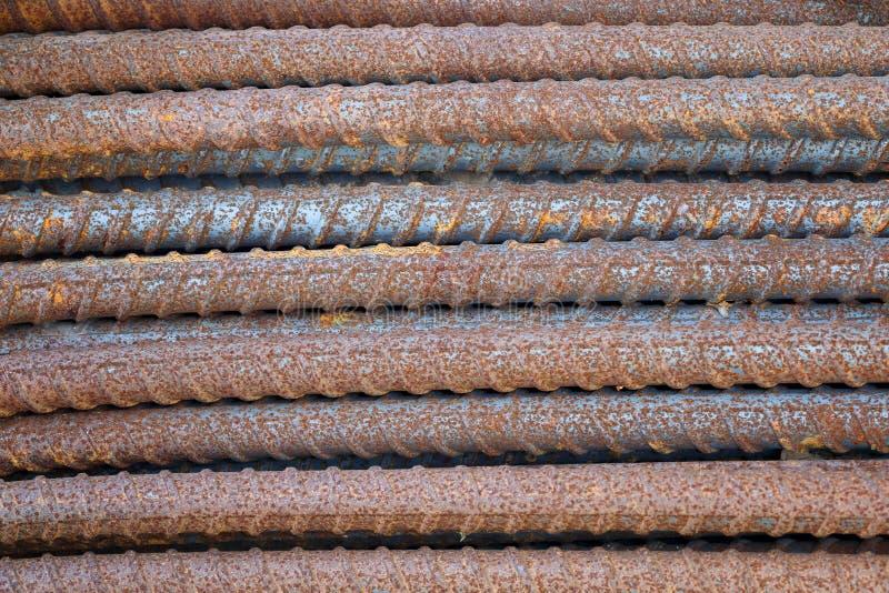 Barre d'acier de barre de fer d'acier pour b?ton arm? image libre de droits