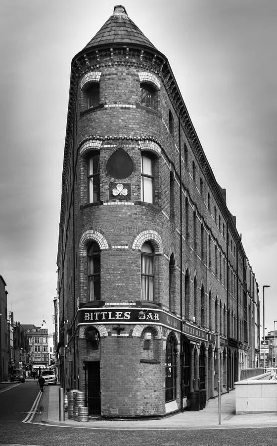 Barre de Bittles à Belfast images stock