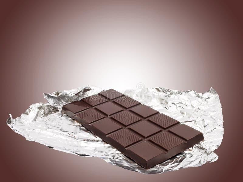 Barre de chocolat photo libre de droits