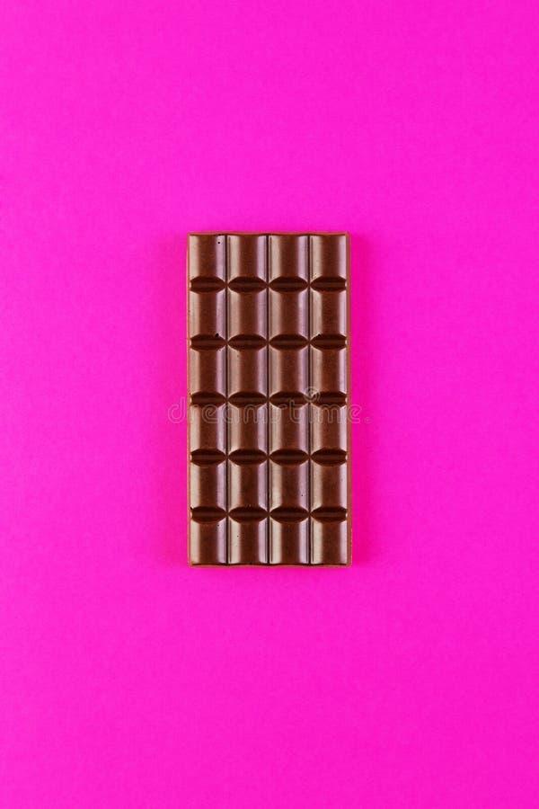 Download Barre de chocolat image stock. Image du manger, rose - 77150833