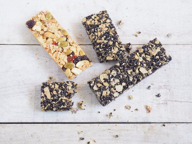 Barre de granola saine image stock