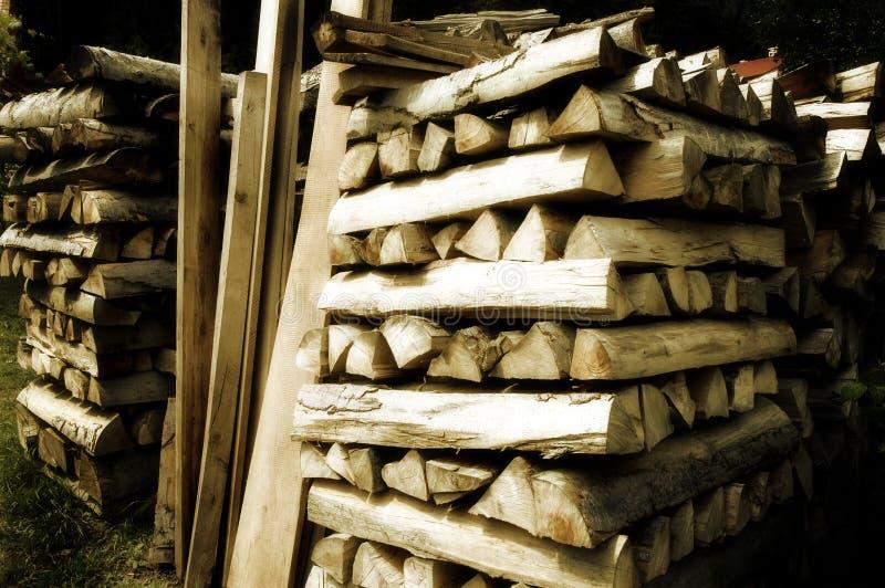 Barre en bois photographie stock