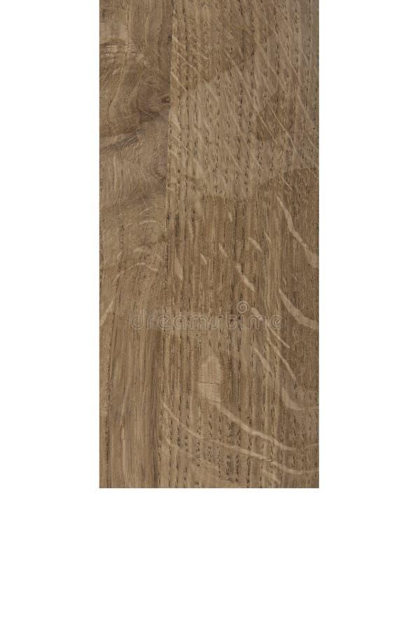 Barre en bois d'isolement sur le blanc illustration de vecteur