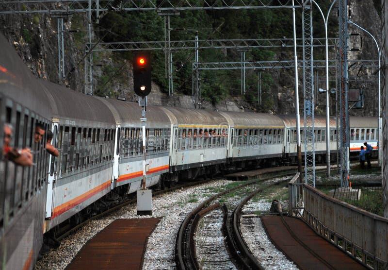 Barre ferroviaire de Belgrade photo libre de droits