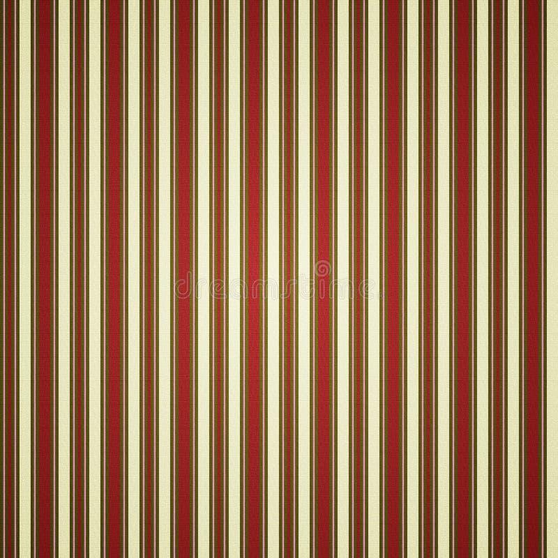 Barre le fond - rouge/blanc illustration de vecteur