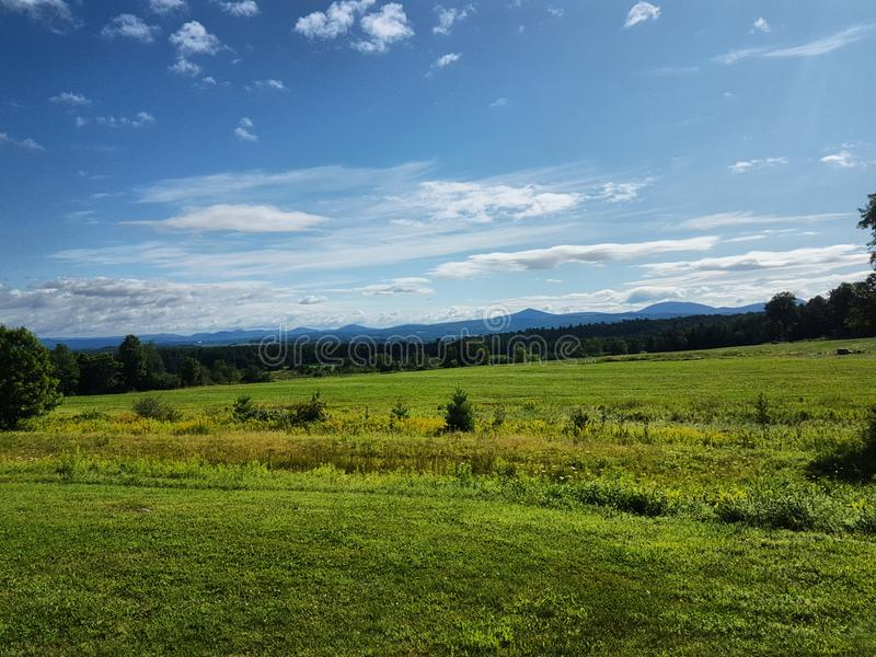 Barre, Vermont Mountainside stock fotografie