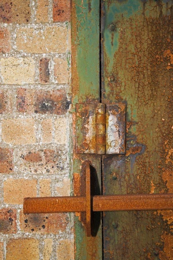Barred Door stock photos