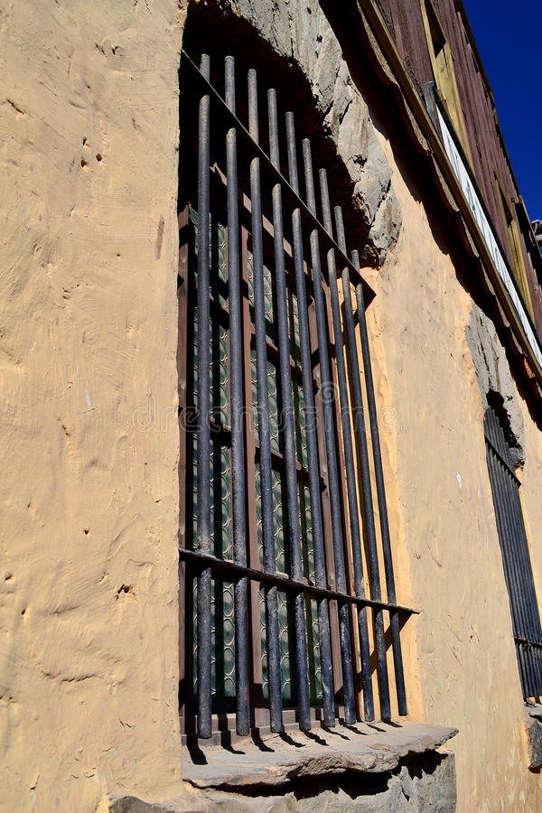 Download Barred Window Royalty Free Stock Image - Image: 23938146