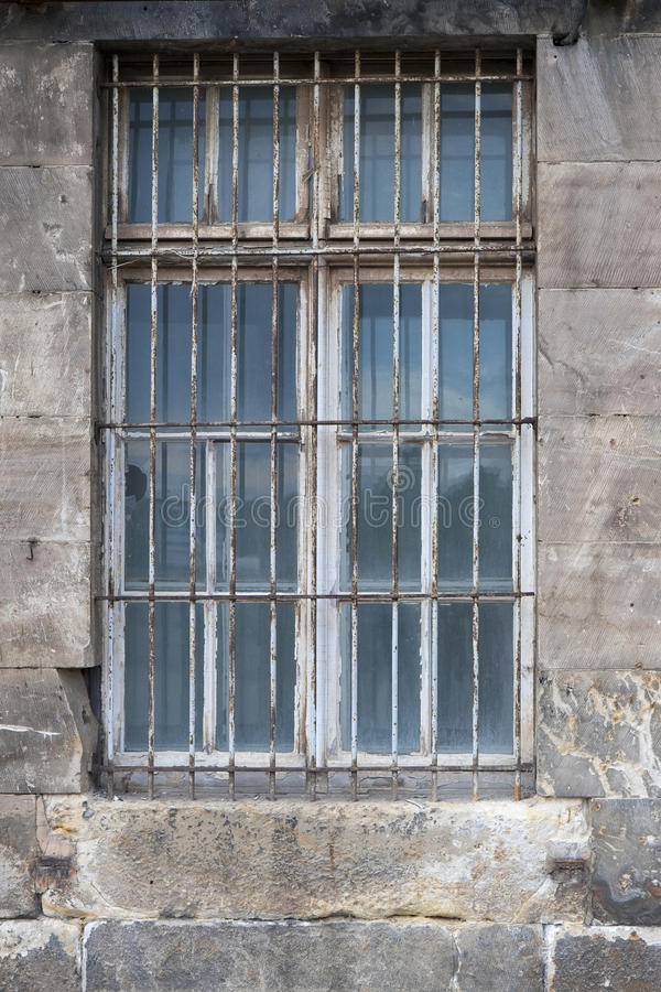 Download Barred Window stock image. Image of germany, exterior - 28441877