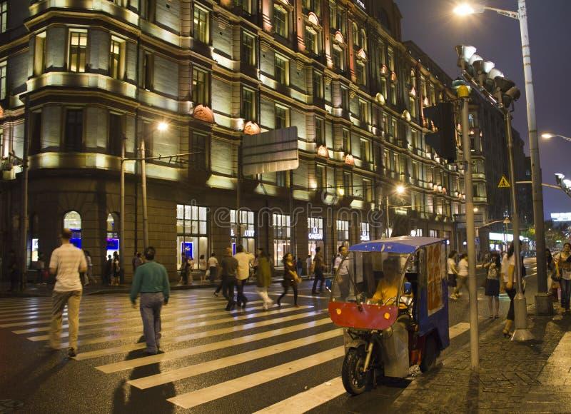 A barreira em Shanghai, China imagens de stock royalty free