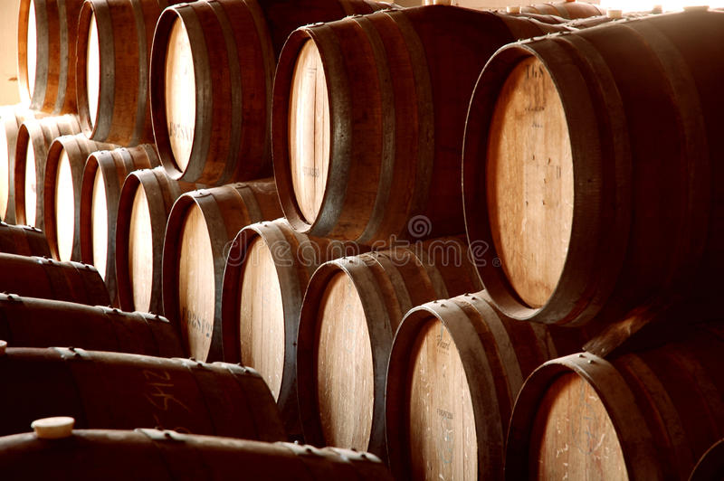 Barrel Abstract IV royalty free stock photography