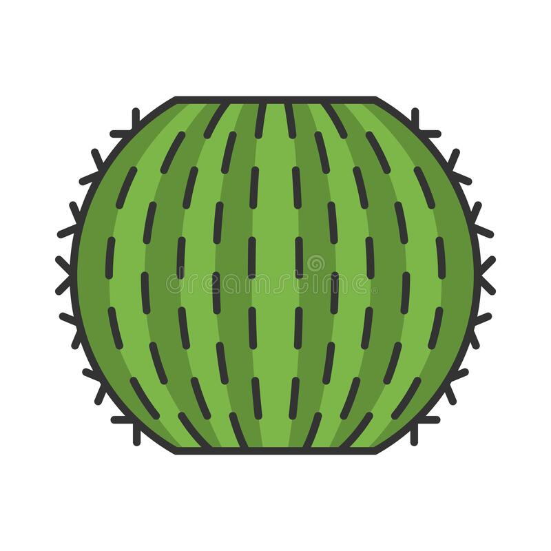 Free Barrel Cactus Color Icon Royalty Free Stock Photo - 178576445