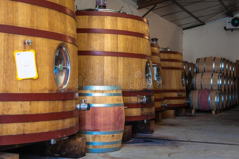 Download Barrel Fermentation And Ageing Stock Photo - Image: 31810668
