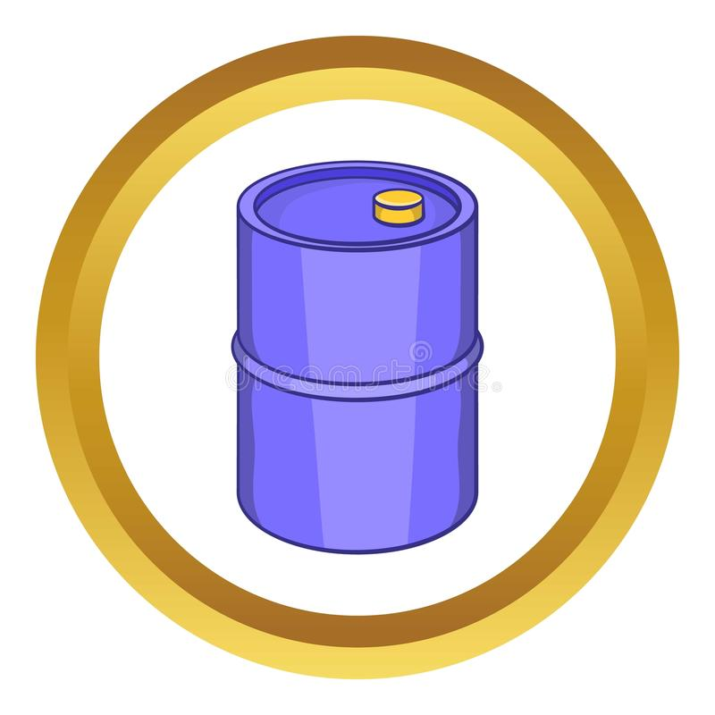 Barrel for gasoline icon vector illustration