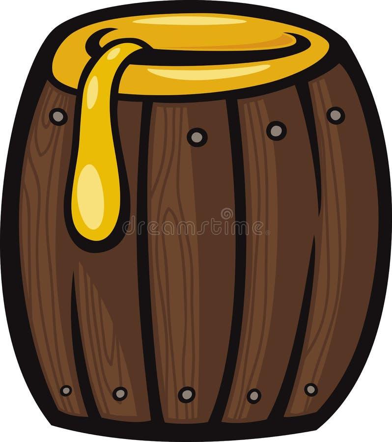 Barrel Of Honey Clip Art Cartoon Illustration Royalty Free Stock Photos