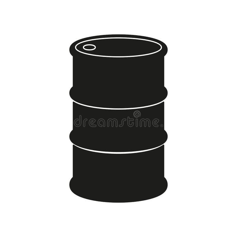 The barrel icon vector illustration